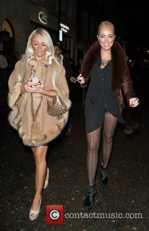 Aisleyne Horgan-Wallace Aisleyne Horgan-Wallace in good spirits whilst out with Made In Chelsea star Ollie Locke in Mayfair, London...