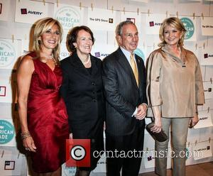 Mayor Michael Bloomberg and Martha Stewart  First Annual American Made Awards in the Vanderbilt Hall at Grand Central Terminal...