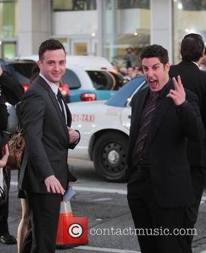 Eddie Kaye Thomas and Jason Biggs American Reunion Los Angeles Premiere - Outside Arrivals at Grauman's Chinese Theatre Hollywood, California...