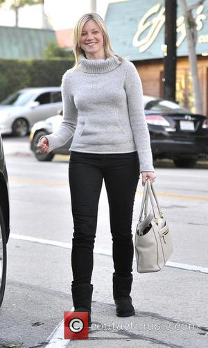 Amy Smart Amy Smart wearing no make up leaves Salon Benjamin in West Hollywood  Featuring: Amy Smart Where: Los...