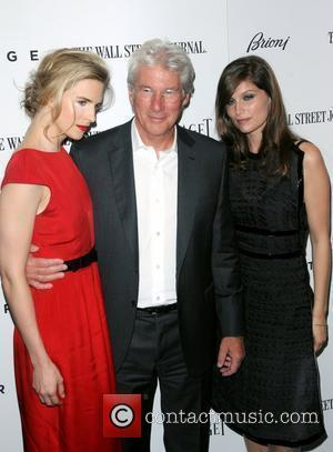 Brit Marling, Laetitia Casta and Richard Gere