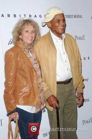 Harry Belafonte and his wife Pamela Belafonte New York Premiere of Arbitrage held at the Walter Reade Theater New York...