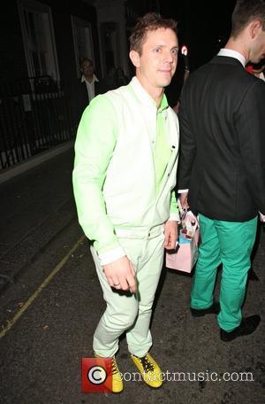 Jake Shears leaving the Arts Club in Mayfair London, England - 30.05.12