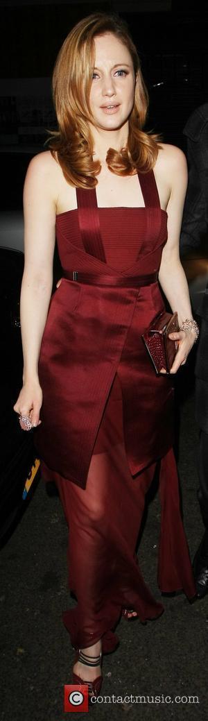 Andrea Riseborough leaving the Arts Club London, England - 12.01.12