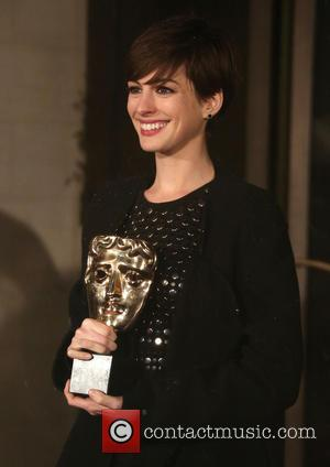Anne Hathaway The 2013 EE British Academy Film Awards (BAFTA'S) after party held at the Grosvenor House Hotel - ArrivalsLondon,...