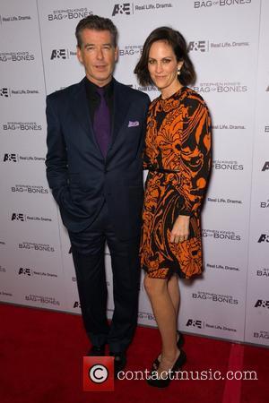 Pierce Brosnan and Annabeth Gish
