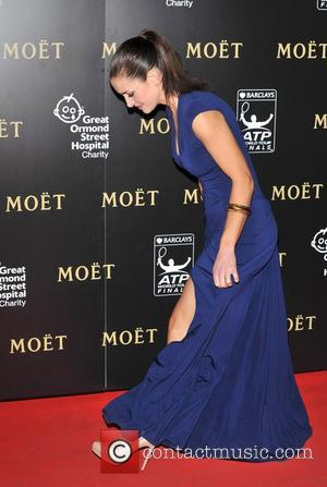 Kirsty Gallacher Barclays ATP World Tour Finals Gala held at the Royal Courts of Justice - Arrivals. London, England -...