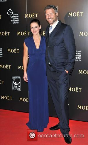 Kirsty Gallacher, Dan Lobb Barclays ATP World Tour Finals Gala held at the Royal Courts of Justice - Arrivals. London,...