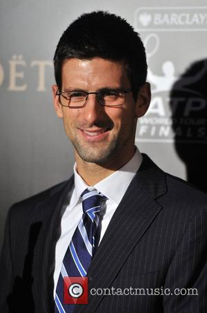 Novak Djokovic Barclays ATP World Tour Finals Gala held at the Royal Courts of Justice - Arrivals. London, England -...