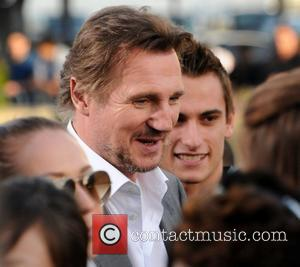 Liam Neeson Battleship premiere at the NOKIA Theatre - arrivals at L.A. LIVE Los Angeles, California - 05.10.12