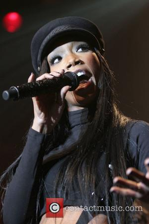Brandy performing live at the Best Buy Theater on the eve of the release of her brand new album