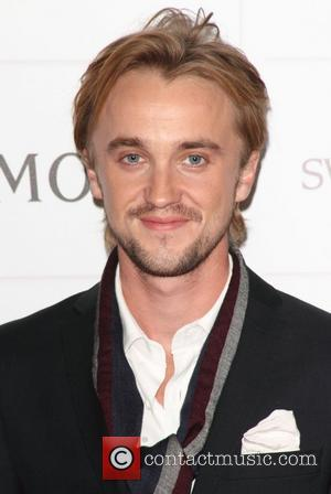 Tom Felton Turns Prankster On Movie Set