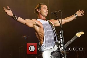 Gavin Rossdale of Bush performing live in concert at Coliseu dos Recreios Lisbon, Portugal - 02.09.12