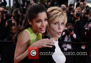Freida Pinto, Jane Fonda and Cannes Film Festival