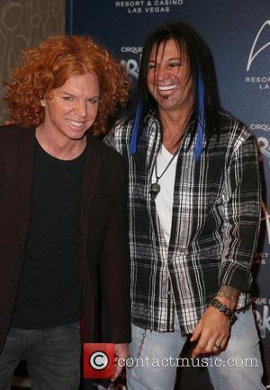 Carrot Top, Michael Godard attends the Zarkana by Cirque Du Soleil swings into the spotlight at Aria Resort and Casino...