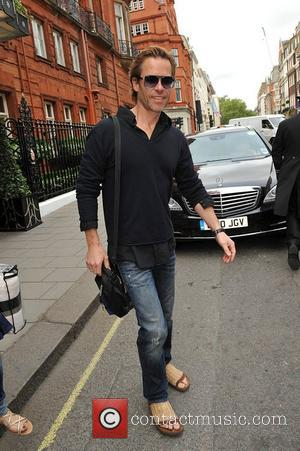 Guy Pearce leaving Claridges hotel London, England - 01.06.12