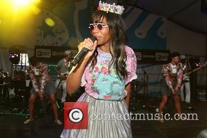 Santigold  performing at the Converse Fader Fort During the SXSW Festival Austin, Texas - 14.03.12 Mandatory