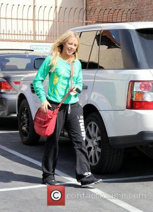 Chelsie Hightower Arriving at a dance studio to rehearse for Dancing With the Stars Los Angeles, California - 05.04.12
