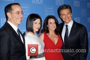Jerry Seinfeld, Jessica Seinfeld, Lisa Oz, Dr and Mehmet Oz