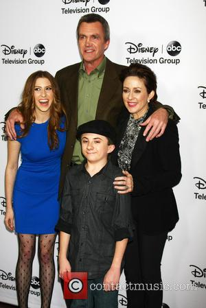 clockwise from left - Eden Sher; Neil Flynn; Patricia Heaton; Atticus Shaffer ABC TCA Winter 2013 Party at Langham Huntington...