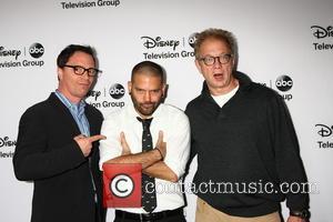 Joshua Malina; Guillermo Diaz; Jeff Perry ABC TCA Winter 2013 Party at Langham Huntington Hotel  Featuring: Joshua Malina, Guillermo...