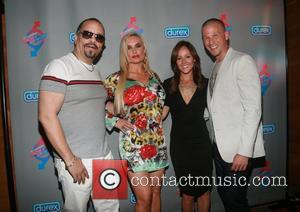 Ice-t, Ashley Hebert and Coco Austin