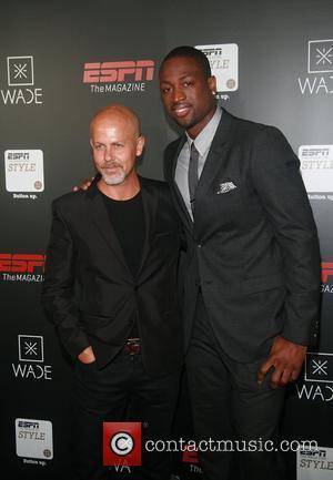 Italo Zucchelli and Dwyane Wade  Dwyane Wade Book Launch Celebration With ESPN The Magazine at Jazz at Lincoln Center...