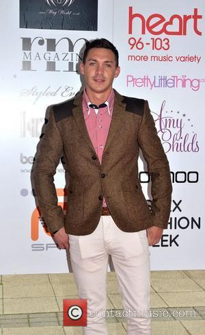 Kirk Norcross  arrives for Essex Fashion week 2012 at the Ceme Conference Centre in Rainham Essex, England - 08.04.12
