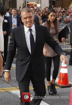 Dolph Lundgren The Los Angeles Premiere of The Expendables 2 at Grauman's Chinese Theatre - Outside Arrivals Hollywood, California -...
