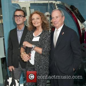 Mayor Michael Bloomberg and Diane Von Furstenberg