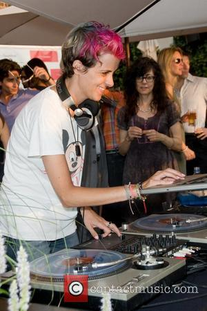 DJ Samantha Ronson Find Your FaceMate.com Launch Party at the STK Rooftop New York City, USA, July 10 2012