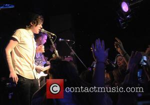Frankie Cocozza performs live on stage at the O2 Islington Academy  Where: London, United Kingdom When: 19 Dec 2012