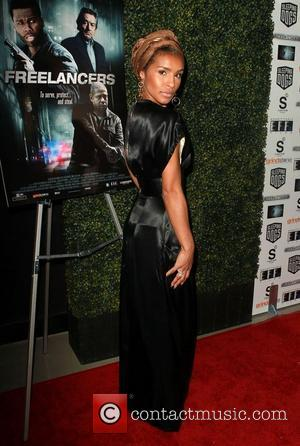 Melody Thornton attend the Lionsgate Home Entertainment and Grindstone VIP screening of Freelancers at the Mann Chinese Theater Hollywood, California...