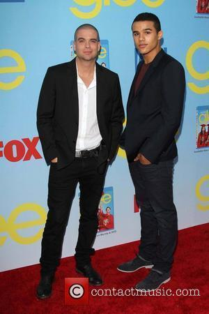 Mark Salling and Jacob Artists GLEE Premiere Screening And Reception at Paramount Studios  Hollywood, California - 12.09.12