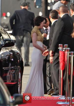Michelle Dockery and Beverly Hilton Hotel