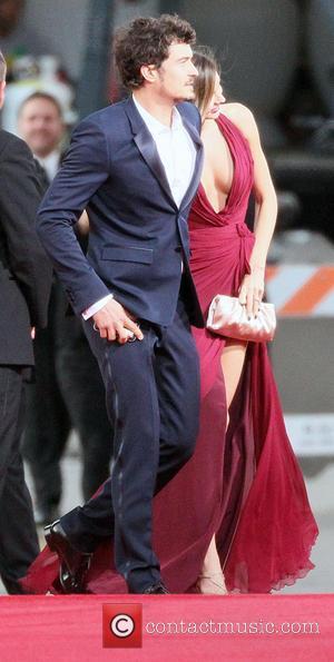 Orlando Bloom, Miranda Kerr and Beverly Hilton Hotel