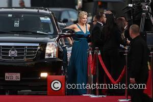 Jane Lynch and Beverly Hilton Hotel