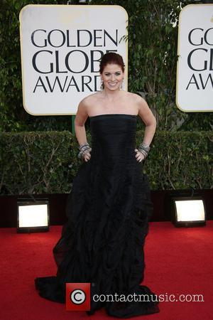Debra Messing 70th Annual Golden Globe Awards held at the Beverly Hilton Hotel - Arrivals  Featuring: Debra Messing Where:...