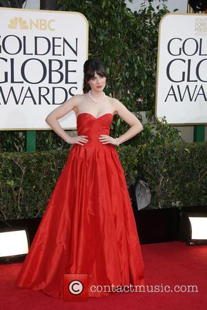 Zooey Deschanel, Golden Globes Dress 2013