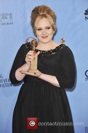 Adele 70th Annual Golden Globe Awards held at the Beverly Hilton Hotel - Press Room  Featuring: Adele Where: Beverly...