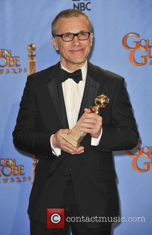 Christoph Waltz and Beverly Hilton Hotel
