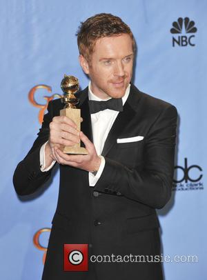Damian Lewis and Beverly Hilton Hotel