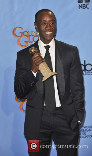 Don Cheadle 70th Annual Golden Globe Awards held at the Beverly Hilton Hotel - Press Room  Featuring: Don Cheadle...