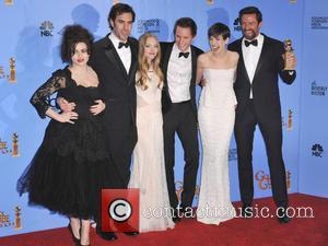 Helena Bonham Carter, Sacha Baron Cohen, Amanda Seyfried, Eddie Redmayne, Anne Hathaway, Hugh Jackman and Beverly Hilton Hotel