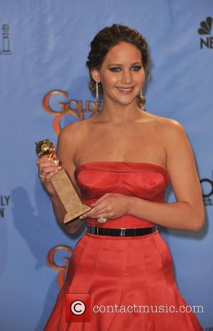 Jennifer Lawrence and Beverly Hilton Hotel