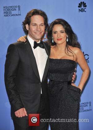 Salma Hayek, Paul Rudd, Golden Globes 2013