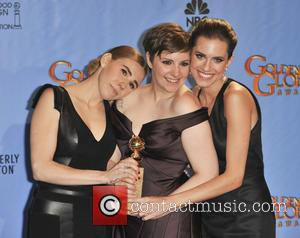 Zosia Mamet, Allison Williams, Lena Dunham and Beverly Hilton Hotel