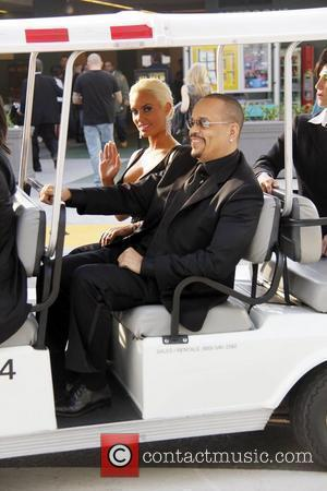 Coco Austin and Ice-T 54th Annual GRAMMY Awards (The Grammys) - 2012 Outside Arrivals held at the Staples Center Los...