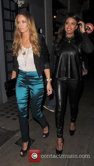 Lauren Pope, Danni Park-Dempsey and Groucho Club