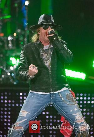 Axl Rose of Guns N'Roses performing live in concert at the Capital FM Arena Nottingham, England - 19.05.12